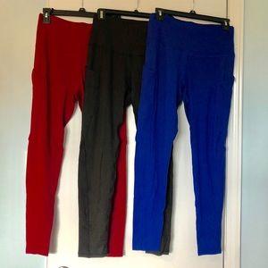 Pants - NWOT 3 Pairs of Leggings